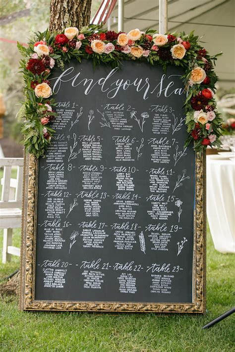 Peach Wedding Table Plan Ideas   Wedding Ideas by Colour