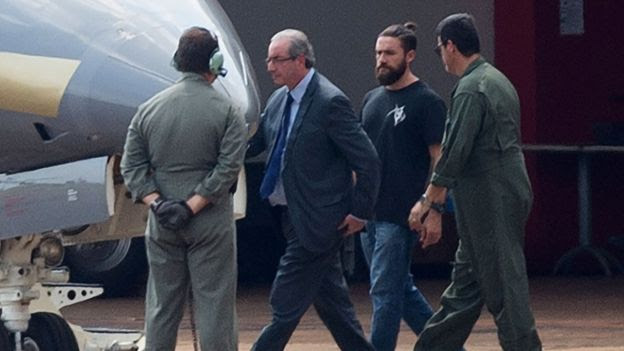 Para Moro, Cunha tem 'modus operandi' de tentar interferir no processo e poderia prejudicar trabalho da Justiça