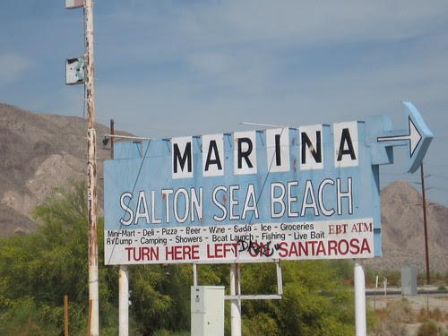 "Salton Sea ""Marina"""