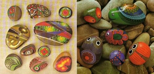 fai da te,realizzazione base su come dipingere i sassi,come dipingere i sassi,pietre dipinte,pittura di base per sassi,