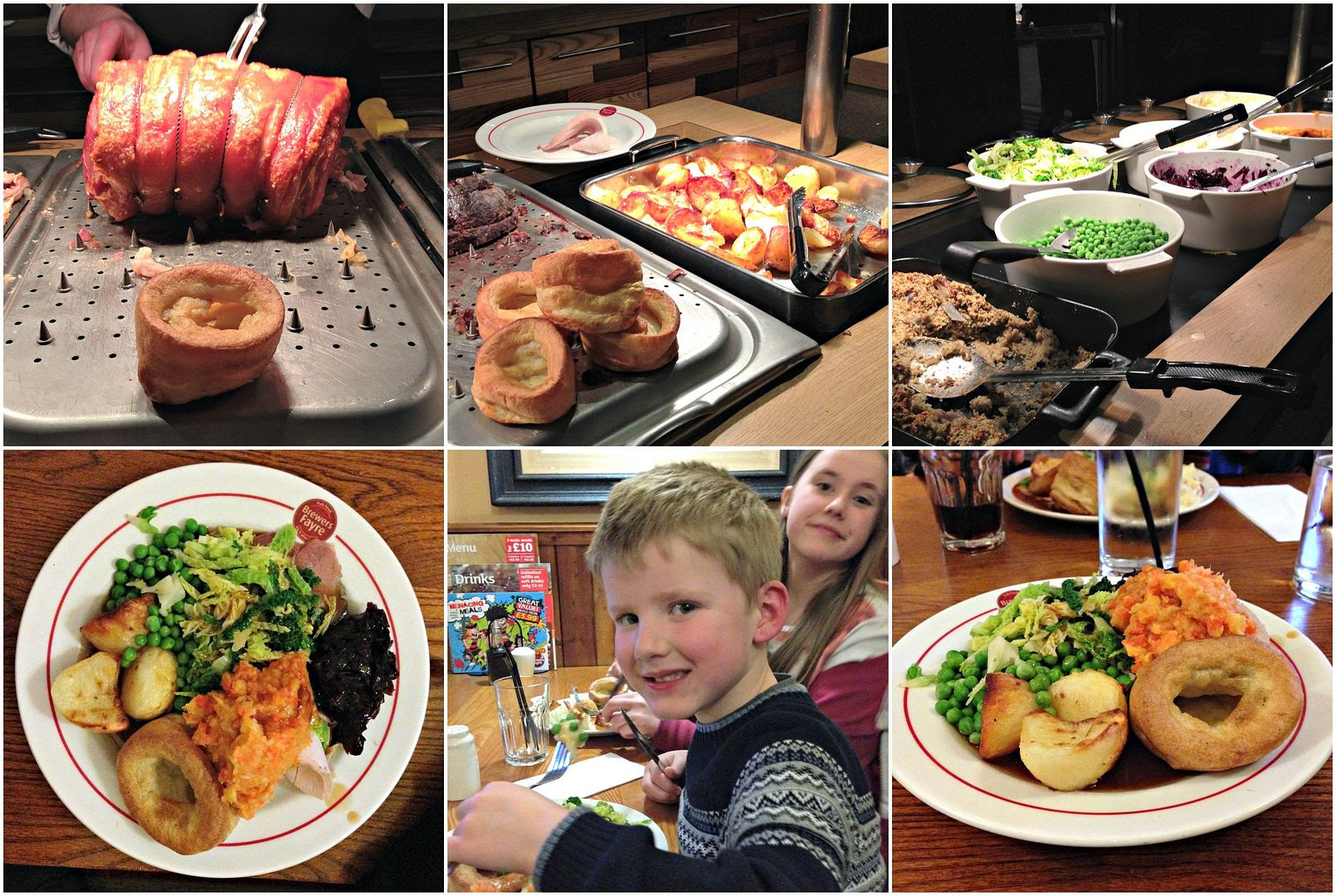 Mother's Day Carvery at Brewers Fayre