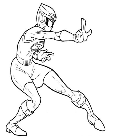 ranger pink coloring page  free printable coloring pages