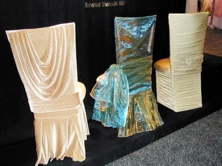 Elegant Wedding Chair Covers   Dazzle & Design   Here's