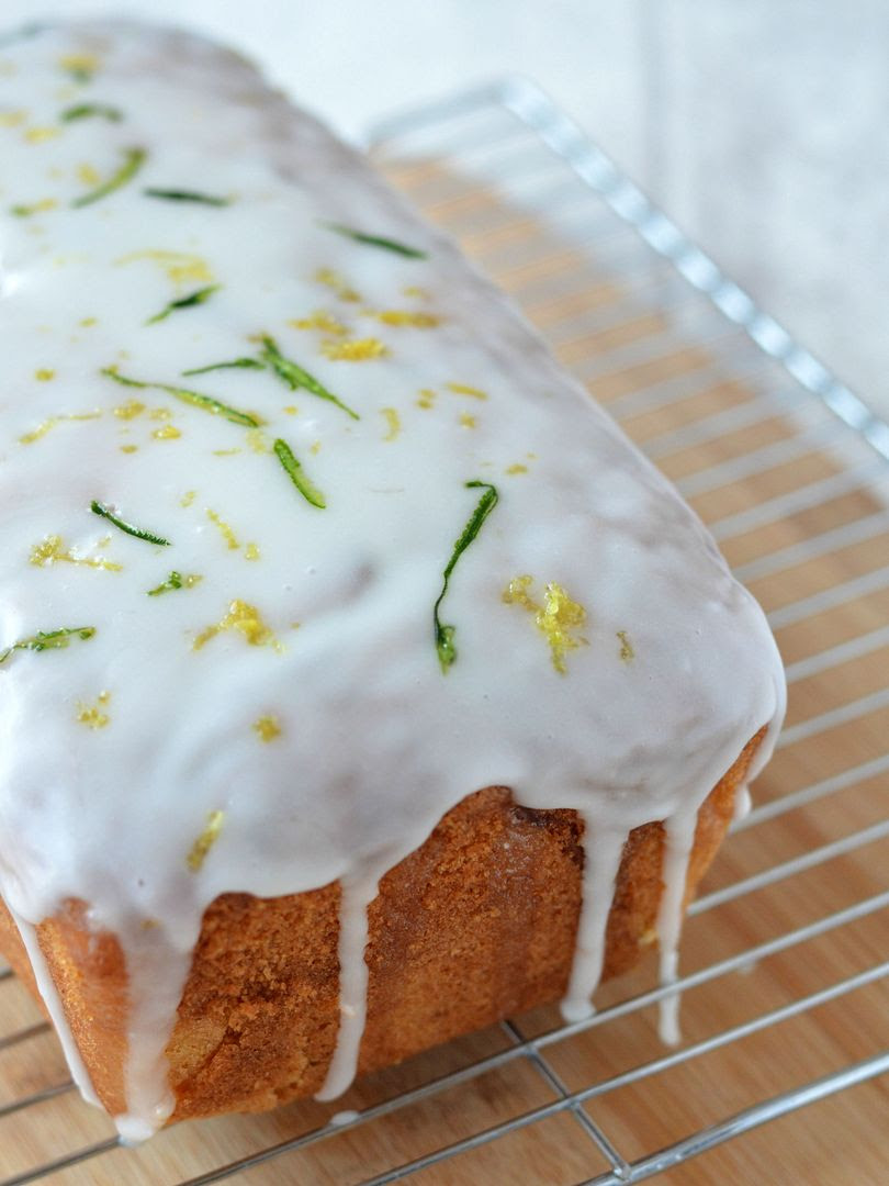 Courgette & Lemon Madeira Cake