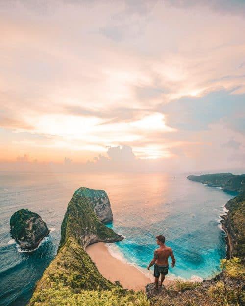Kelingking Secret Point Beach In Nusa Penida Jonny Melon