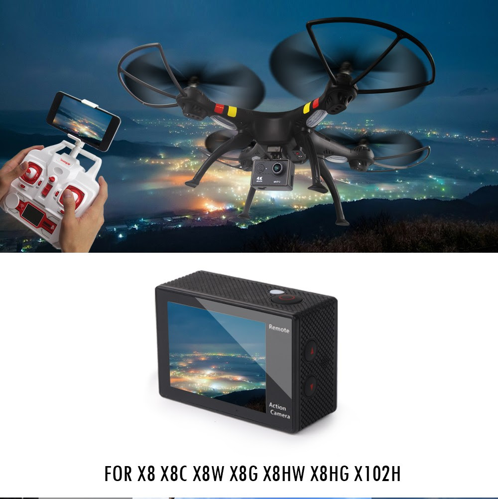 Rc Helicopters Confident Syma X8g X8hg X8hw Headless Mode 2.4g 6-axis Drone With 8mp Camera 3d Roll Rc Quadcopter Helicopter Transmitter Bnf Version Toys