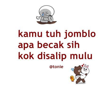 gambar tulisan jomblo happy keren