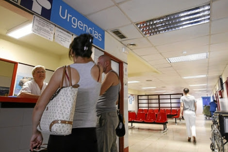 Servicio de Urgencias del centro de salud La Alamedilla Salamanca. | Enrique Carrascal