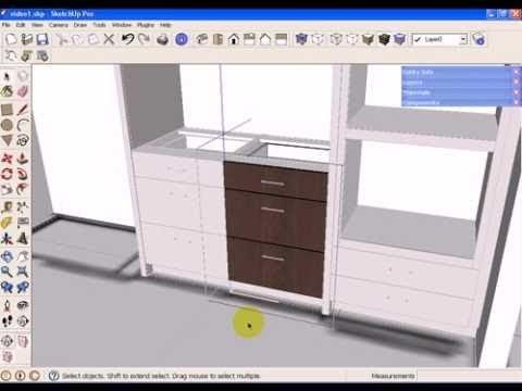 Hochwertige Baustoffe Sketchup Kitchen Design Download