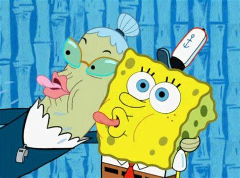 gambar gerak spongebob deloiz wallpaper