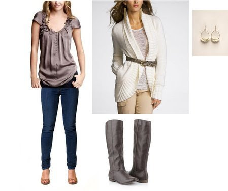 Express, The Limited, Forever 21, Gap