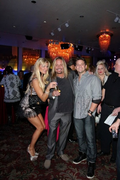BYLINE: EROTEME.CO.UK.Zowie Bowie And Friends Opening Night at Bally's Casino & Hotel for Vintage Vegas Entertainment.Guests Include : Coco Austin, Chris Phillips, Vince Neil, Robin Leach, Jeff Timmons from 98 Degrees, Murray Sawchuck, Paul Shortino from Quiet Riot, and Vinnie Paul of Pantera.