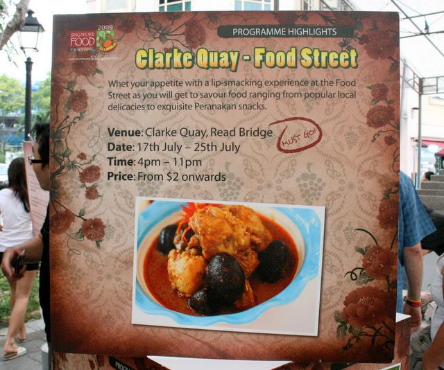 Food Street on Read Bridge