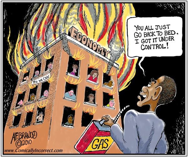 Obama Economy (Cartoon)