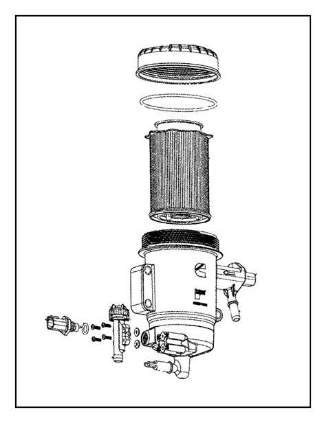 RAM 2500 Valve. Water separator drain. Coolerblackruby