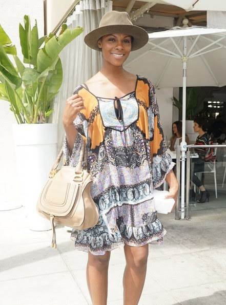 'The Haves and the Have Nots' actress Tika Sumpter out and about in Los Angeles, California on March 28, 2014.