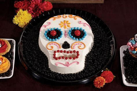 How to Make a Day of the Dead Cake   Party Delights Blog