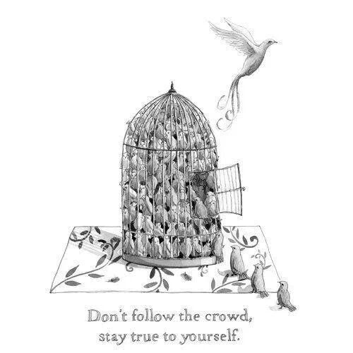Awesome Don T Follow The Crowd Quotes