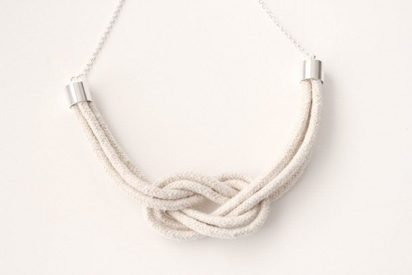 Rope Necklace - Be A Square Knot