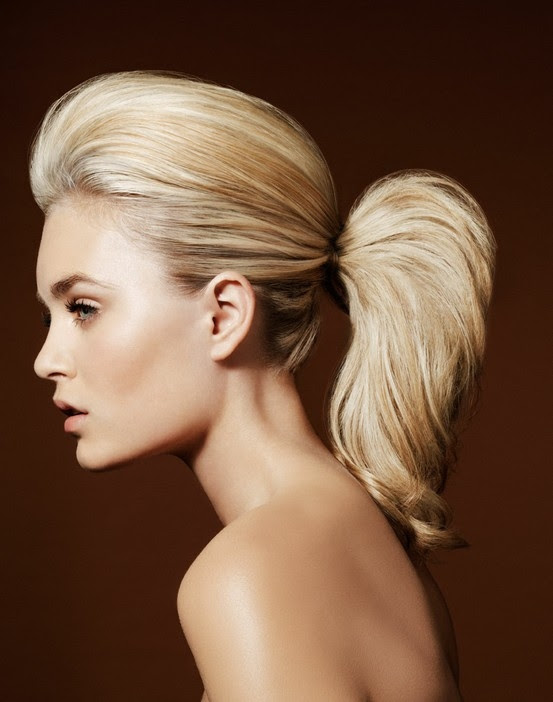 High Volume  Pony Tail  7 Quick Fabulous Hairstyles  That
