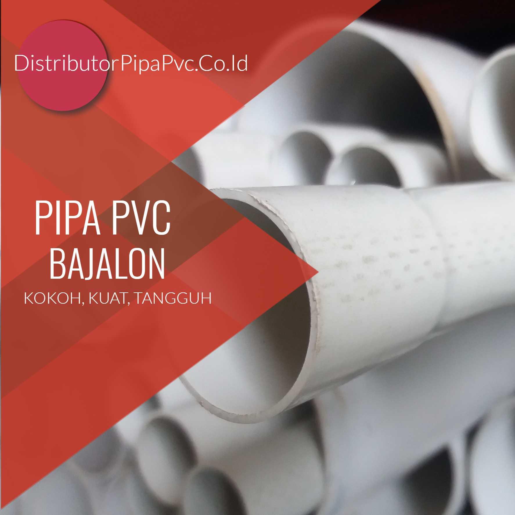 Harga Pipa Paralon Murah Distributor Pipa PVC