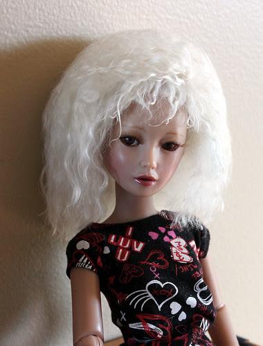 handmade wig, front