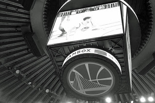 Golden State Warriors - VIP Floor tix ceiling