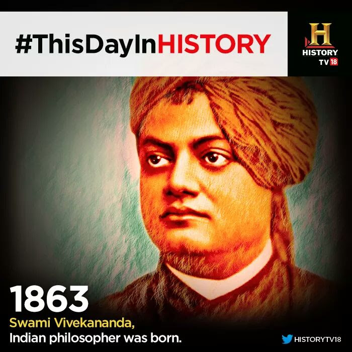 Today is our great Swami Vivekananda's birth anniversary and is celebrated as National Youth day in India