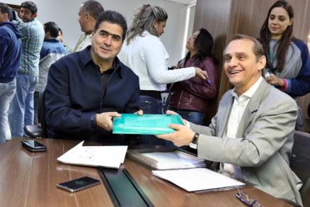 Emanuel Pinheiro e Wilson Santos