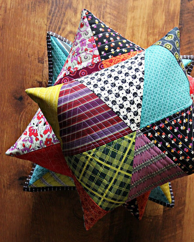 Chicopee Patchwork Pillows