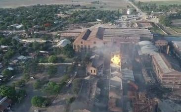 INFLAMÁVEL:  Cinco mortos em incêndio em refinaria na Argentina