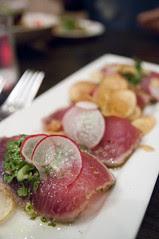 Seared Spiced Ahi Tuna Nicoise, Oola Restaurant & Bar, San Francisco