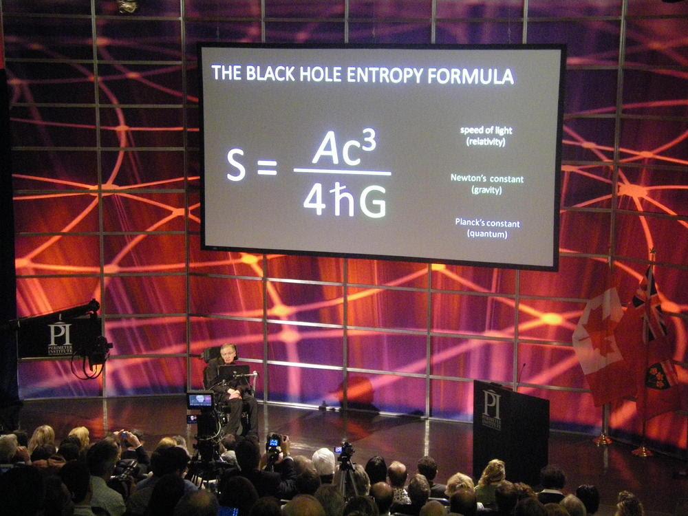 Image result for The black hole entropy formula