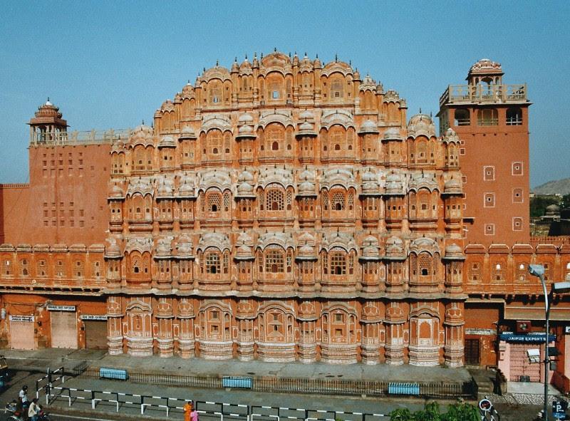 Hawa Mahal (Palast der Winde), Jaipur