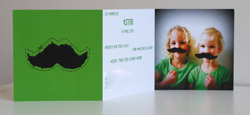 geboortekaartje Astor