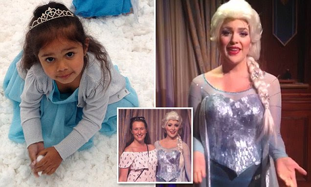 Frozen's Queen Elsa sends heartfelt message to racially abused Aboriginal girl