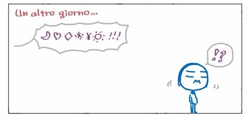 """Un altro giorno… +>?!""""%%$)=~(*!!! !?"""
