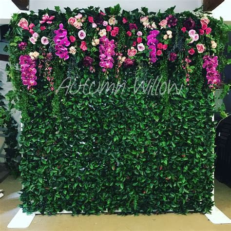 Our new flower wall available to hire   Sydney   Autumn