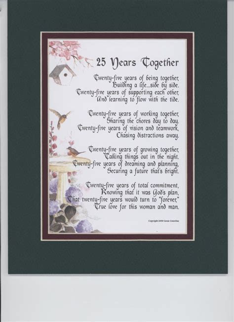 Printable Poems 60th Anniversary   Happy Wedding