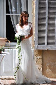 Mariage élégant Robe De Mariee Champetre Boheme