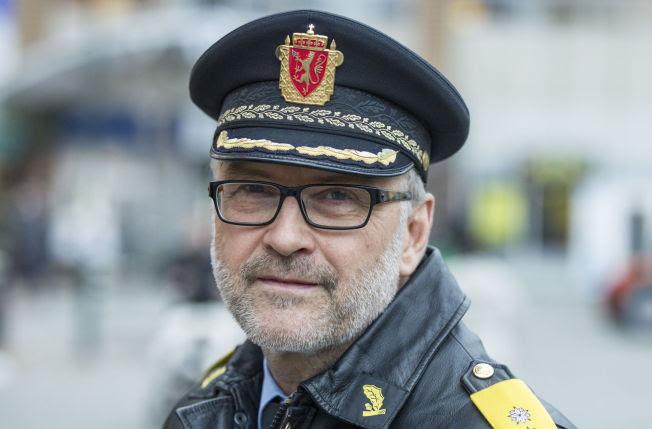 <p>ANMELDT AV HOLSTAD: Politimester Hans Sverre Sjøvold.</p>