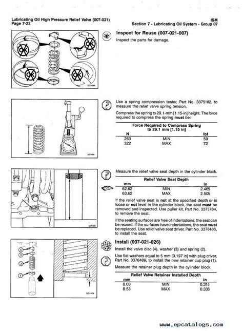 Cummins ISM / QSM11 Series Engines Repair Manual PDF