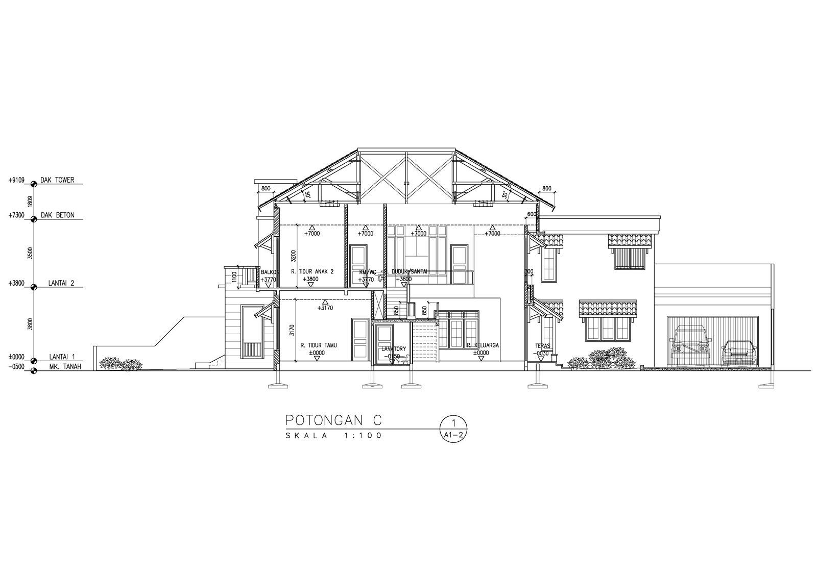 Image Result For Denah Rumah Modern Mewah