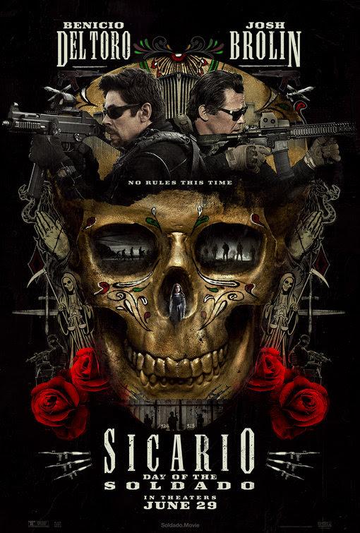 Resultado de imagem para movie poster Sicario Day Of The Soldado