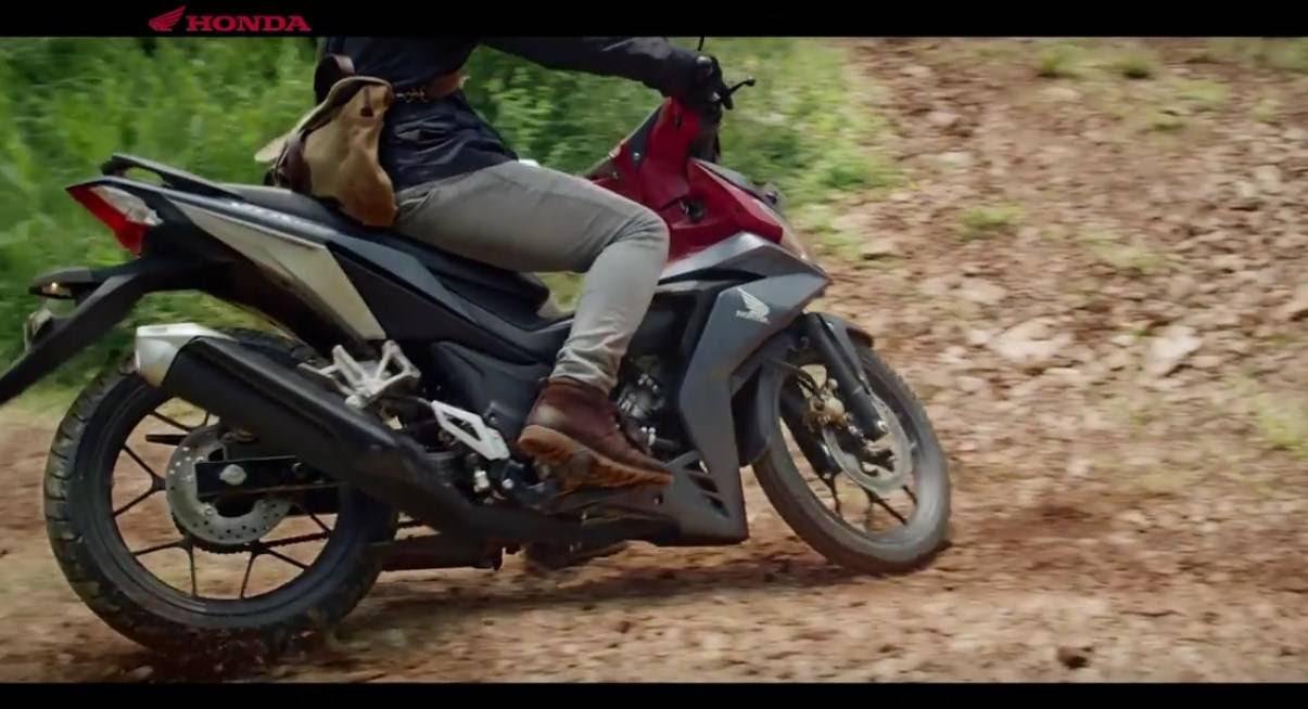 Tonton Video Iklan Supra GTR150 Ini Motor Bebek Apa Motor Trail Ya