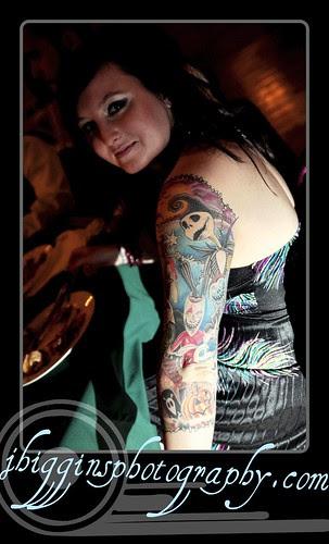 nightmare before christmas sleeve - tattoo- photo by jessica higgins