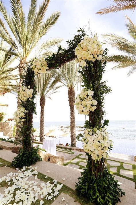 Elena Damy   Stunning Beach Wedding Ceremony Ideas by