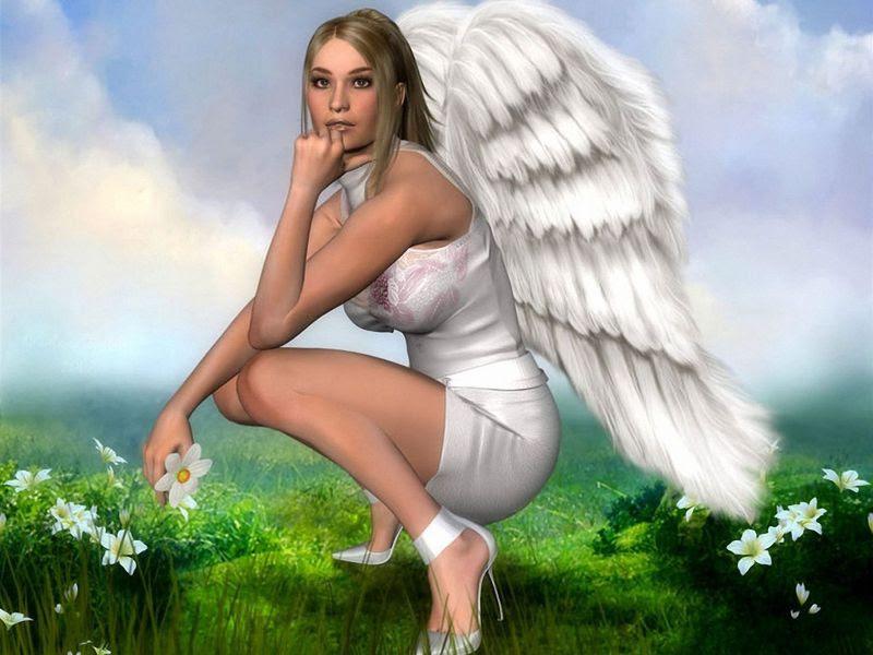 Fondos De Pantalla De Mujer Angel Wallpapers De Mujer Angel