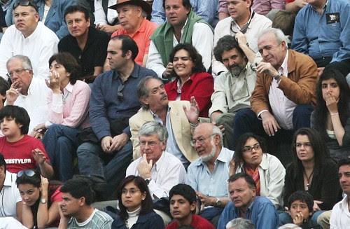 Fernando Zavala, Verónica Zavala, Francisco Lombardi y Güido Lombardi en Acho