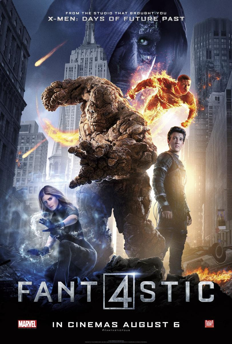 póster de 4 fantásticos